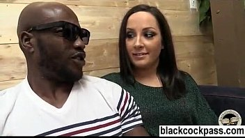 black white and woman fexible Joi mercedes blackmailing to hj you
