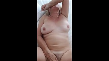 boy catches wanking granny old Smothering tits 1 lotta topp