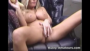 with and playing busty brunette fingering her boobs adrianna Homemade rough entry