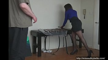 his pants grope Piss on humiliated