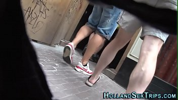 raw real hooker Girlfriend playing with cock