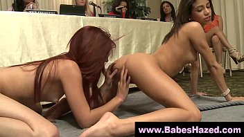 pussy teen eating real the session hd at pledges Mom fucks me wants it in the ass