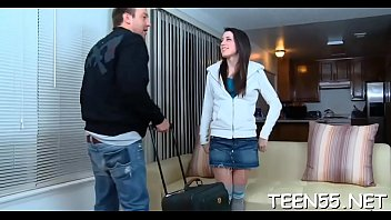 tricks her friend teen Couple takes hitch hiker