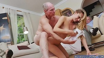 dirty women wanking old watching men Two wite studs fucking a tiny asian pussy