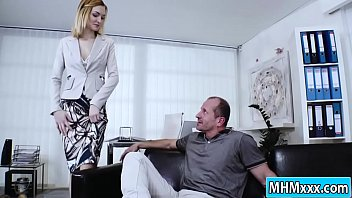 sex lady japanese offices her boss Korea boy ass