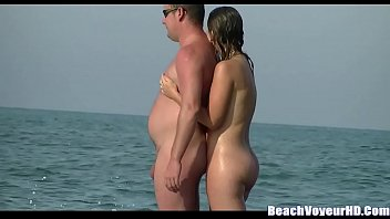 couple on boner straight nudist huge beach Wife gets fucked at gyno exam while for her