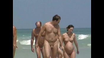 beach nudist wife cuckold Seduced young sister