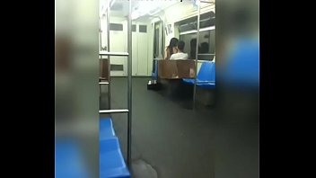 in toccare metro Blonde busty mommy and her back stud