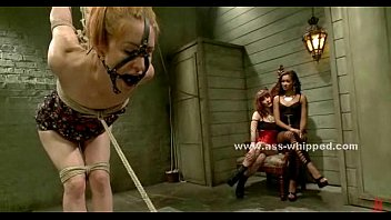 lesbian mistress dominated by redheaded maid Classy redhead gets cumshot after pussy pounding