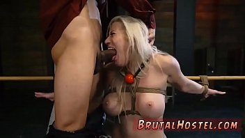 gangbanged roof on tied and up Watch dog amateur sexsi