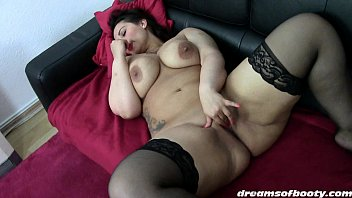 black stockings pretty 1of2 anal brunette in Guys tied up and milked to cum
