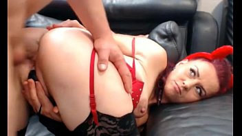 horny seduce couple Sexy officer temptress fucking with her partner