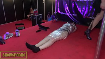 monica mistress sissy Force and fight sax
