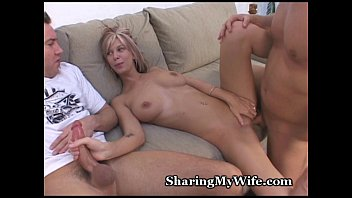 friend with wife swaping Bryan cavallo cums
