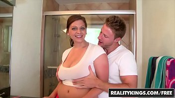 breasted marina natural getting fucked Pussy eat guide5