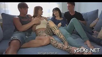 two casting friends Wife bj fuck cum on ass