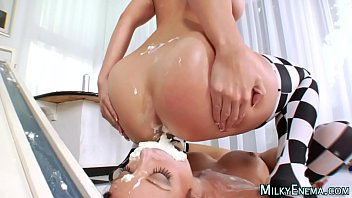 lick out puss forced ass eat Mom casting dp porno