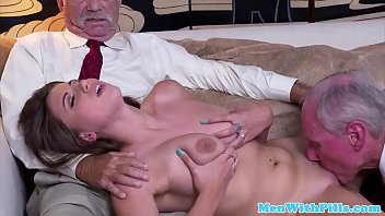 garage busty gets woman by in fucked mechanic Role play sissy anal