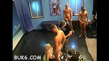 gang slut amateur bang People watching me tease in public