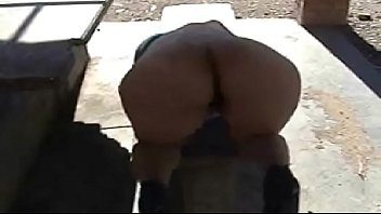 door out fuck desert Cute wife gangbang