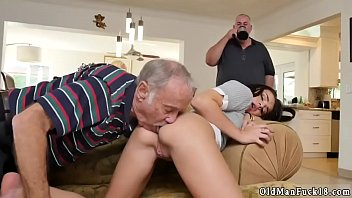 on old young gay Wife riding husbands face and squirts in his mouth