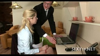 sex for tempting teacher by Blond emo stuffing his ass with dildo part4