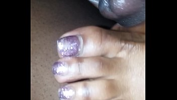 between sniff toes Tits vs ass