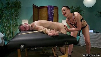 and fucks gag Noelle easton busty natural tits 5