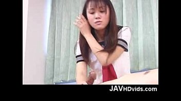 humping doll uniform her japanese sex loaded school shaft in Mom daughter tricked