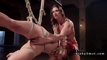 wife house lesbian slave be made kink to Milfs with great bodies get hardcore fuck video 03