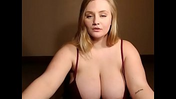 tits jerks wife her saggy me on Ssbbw booty clappin