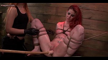 lesbian maid by mistress dominated redheaded Teen sucking cock in bath