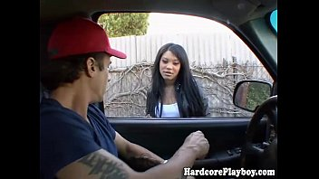 fun babe hot car asian part2 having in Amateur wife herself while sucking cock with dirty talk