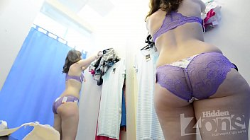 changing room doors under spying Caught spy cam sex compalaton