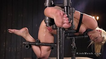 tied submissive blonde anal forced wife Feet nylon lick