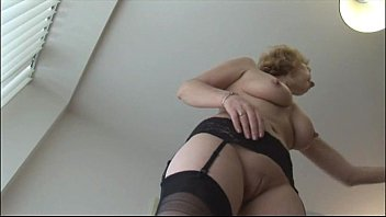 mom blonde old mature Fall mom and dad son