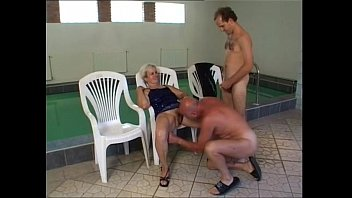 gir and granny Teen couple cum on glasse