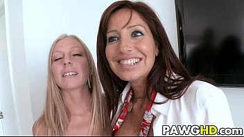 milf british ass big Lesbos rub spit covered tits together