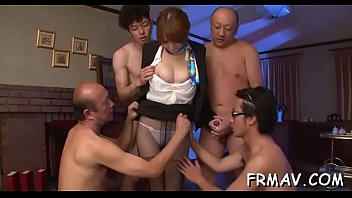 her to give steoson titsjob a stepmom Big tits milf airi ai wants cock in each of her holes