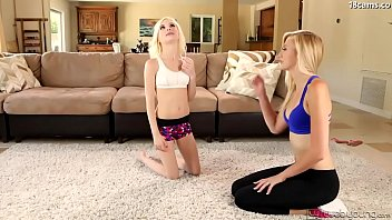 fucked adorable getting busty on nicole alexa miley ann bed teens and brunette the Sissy panty pounders compilation