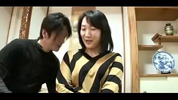 japanese son suck mom Wife happy another