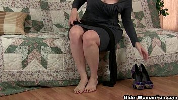 bondage pantyhose mom Two dominas and one male for them to have their fun with3