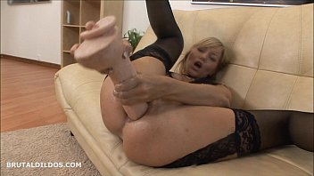 brutal dildo germn French wife outdoor shared